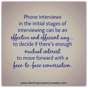 Five Tips for Successful Phone Interviews