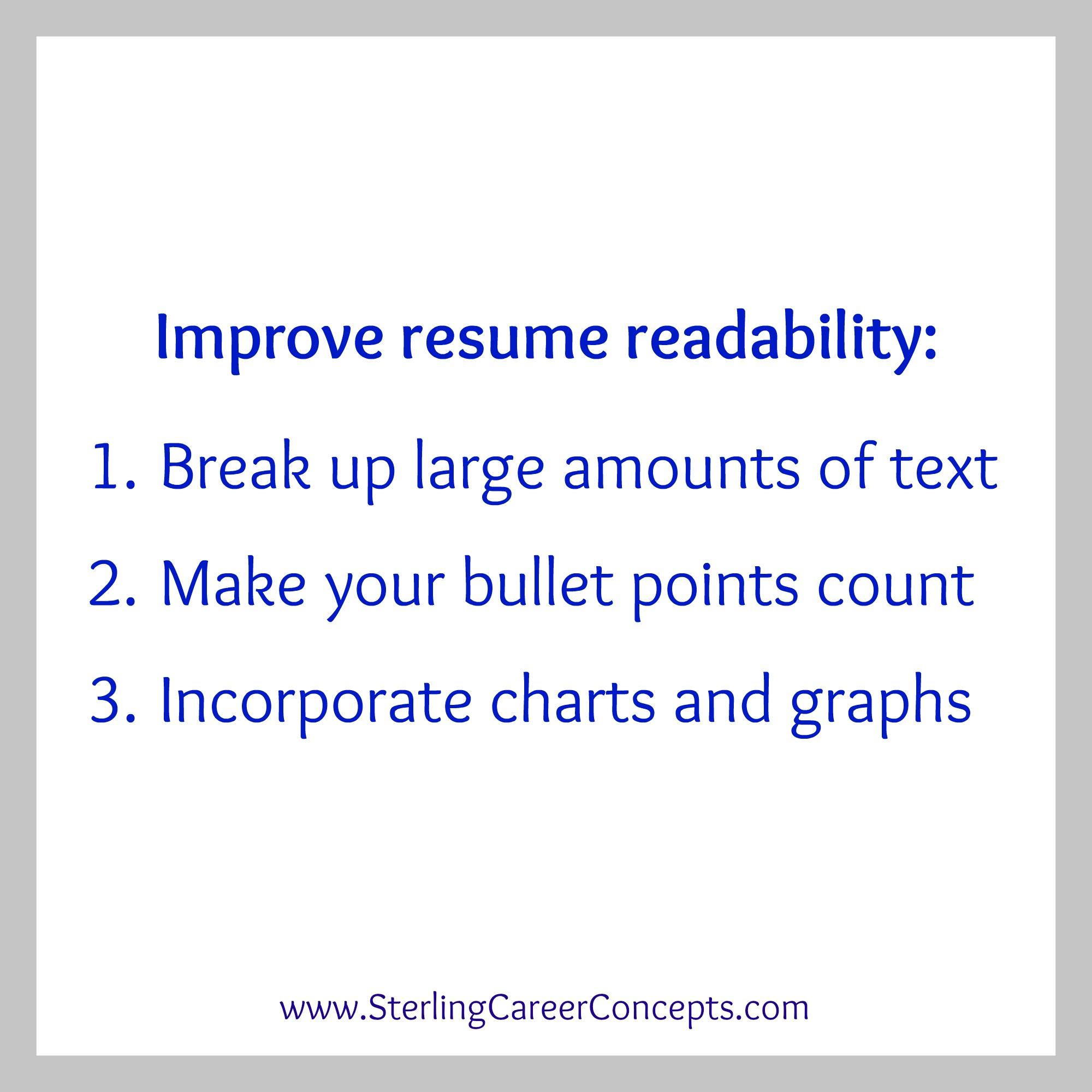 how to make a better resumes