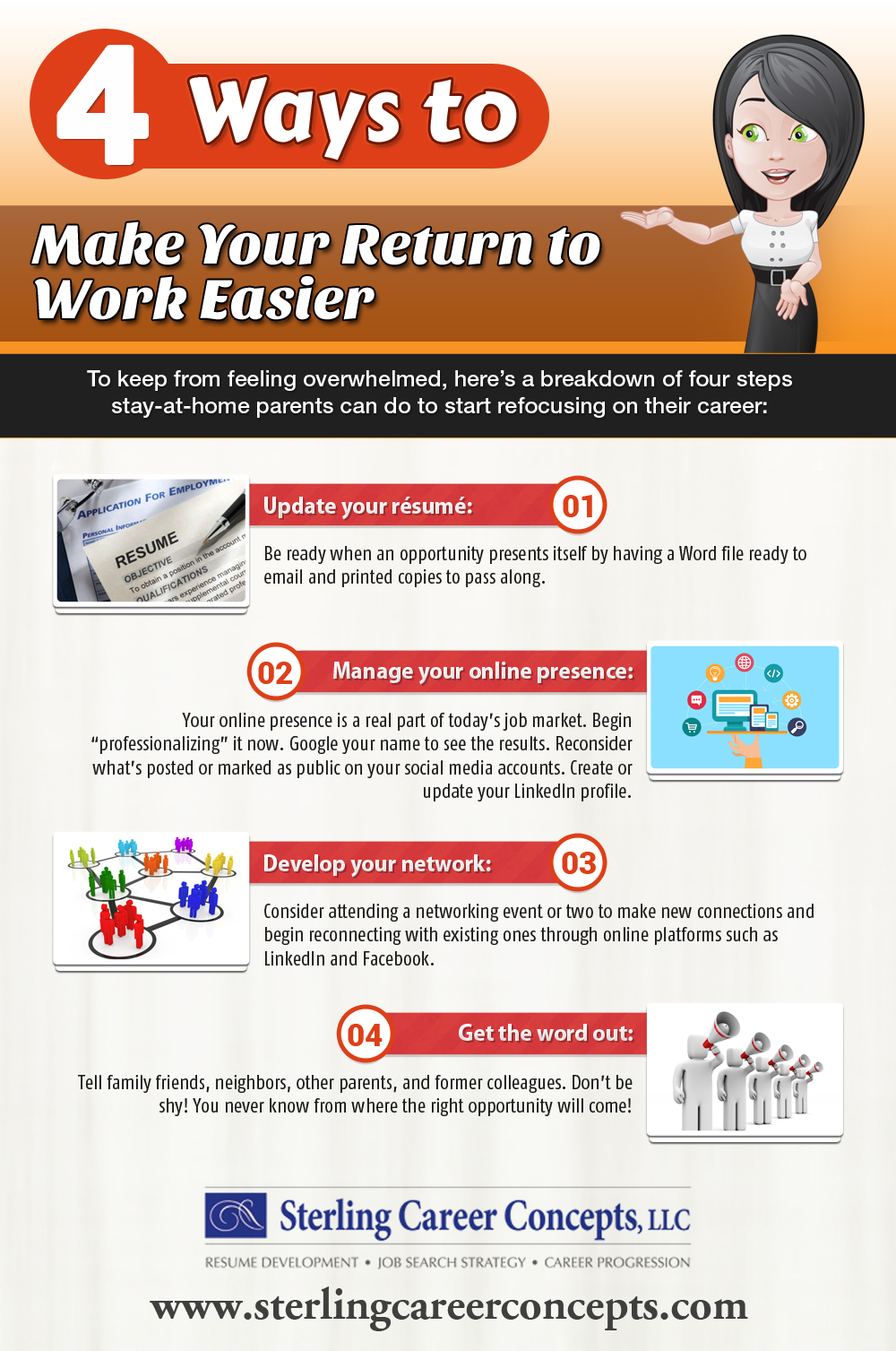 INFOGRAPHIC: 4 Ways to Make Your Return to Work Easier ...