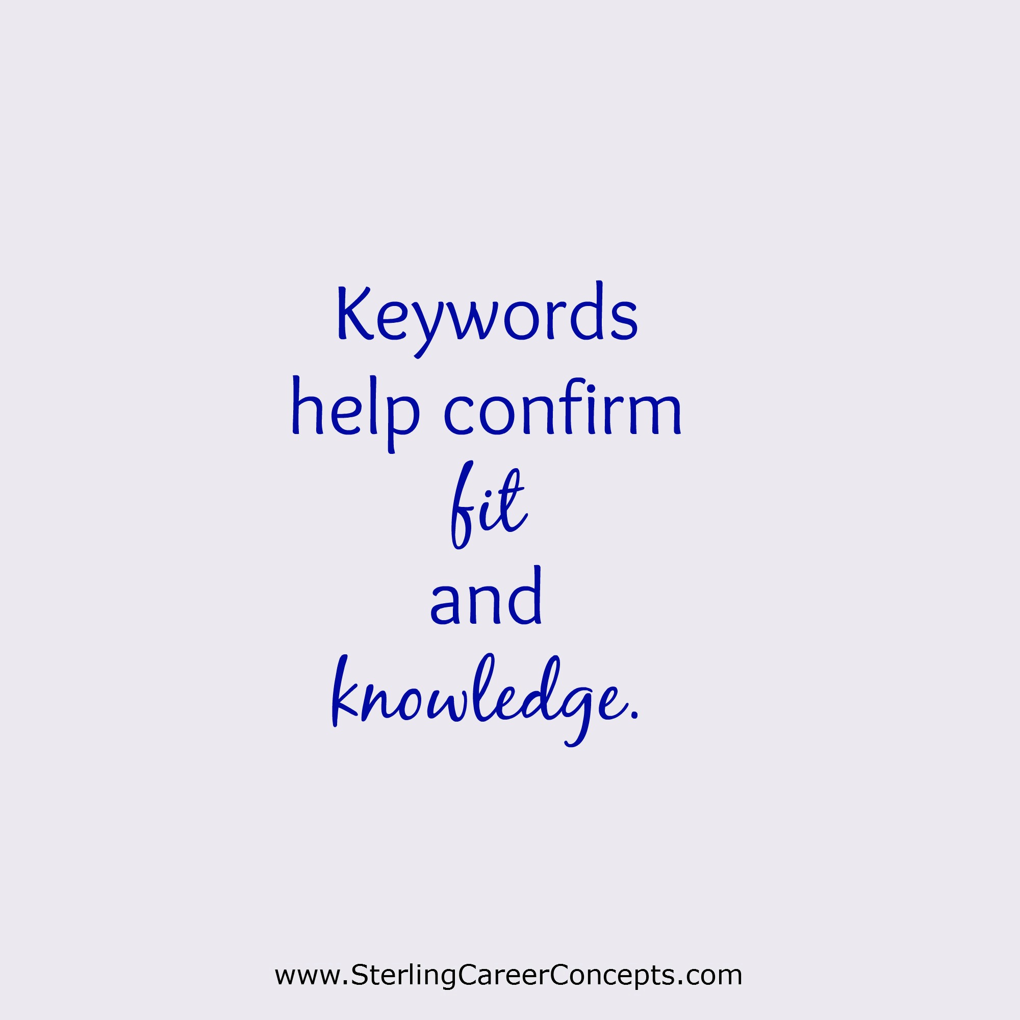 Key Words For Resumes | How To Use Keywords In A Job Search Sterling Career Concepts