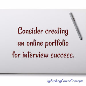 Interview Tips: Creating Your Online Portfolio