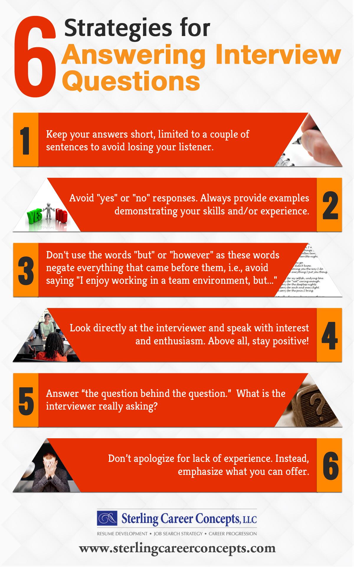 job interview strategies