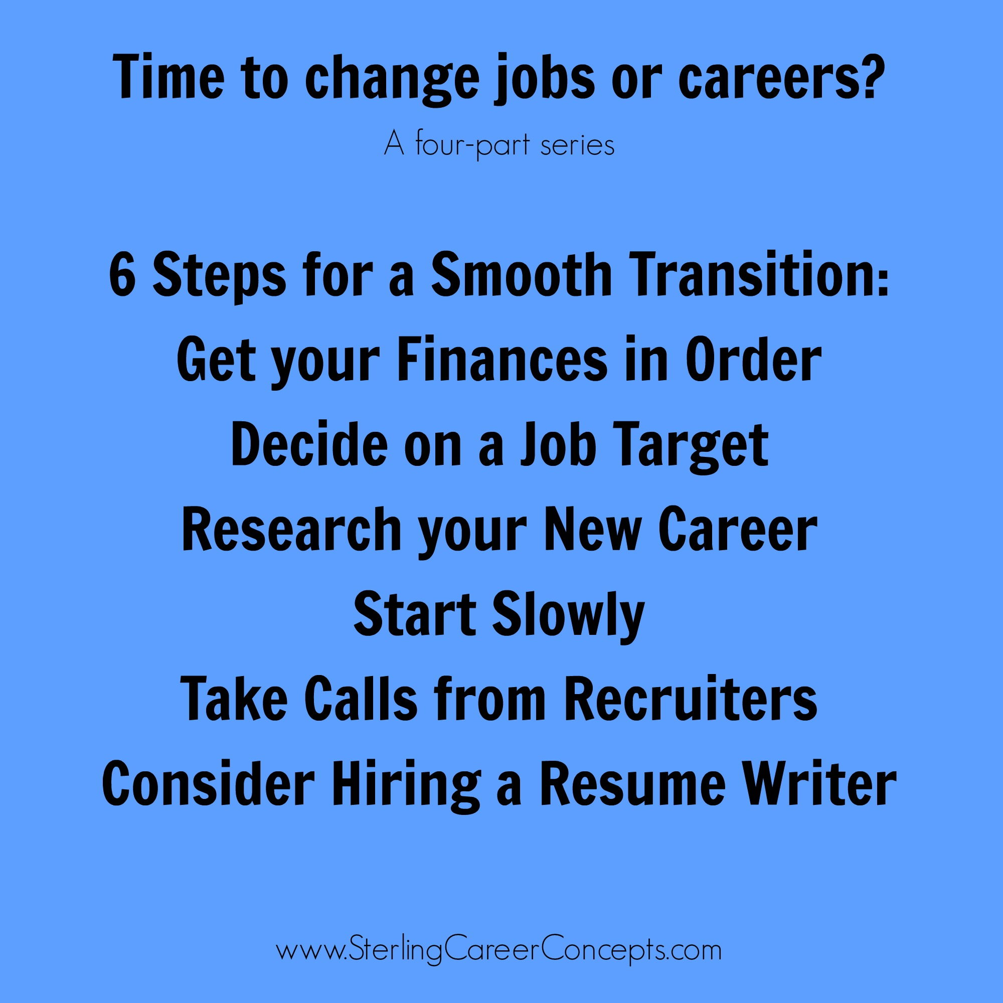 practical steps for your job or career change sterling career 6 practical steps for your job or career change