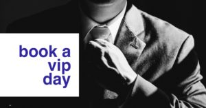 book a vip day as the ideal resume service